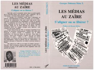 Couverture Les médias au Zaïre