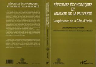 Couverture Réformes économiques et analyse de la pauvreté