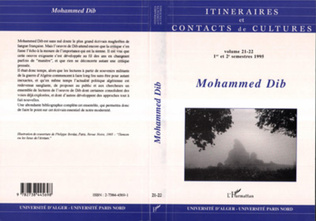 Couverture Mohammed Dib (n°21-22)