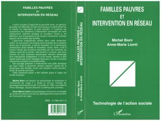 Couverture Familles pauvres et intervention en réseau