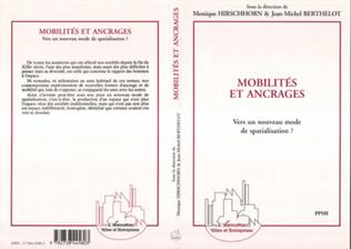 Couverture Mobilités et ancrages