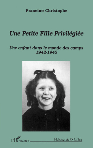 Couverture Une petite fille privilégiée