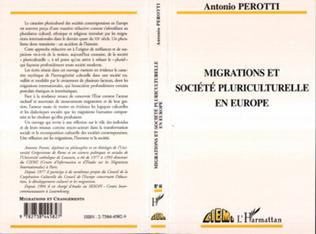 Couverture MIGRATION ET SOCIÉTÉ PLURICULTURELLE EN EUROPE