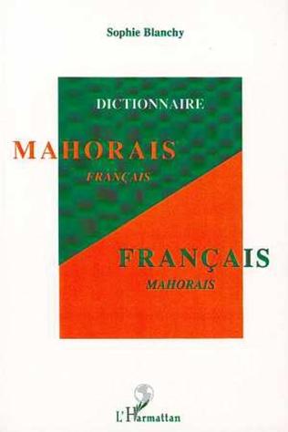 Couverture Dictionnaire mahorais-français / français-mahorais