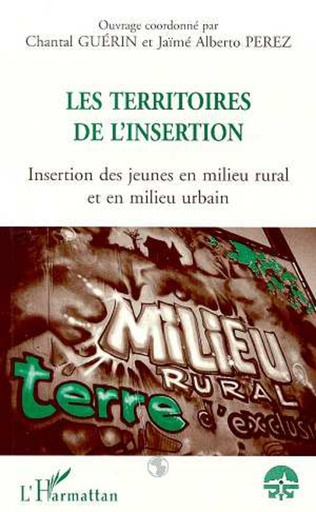 Couverture LES TERRITOIRES DE L'INSERTION