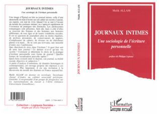 Couverture Journaux intimes