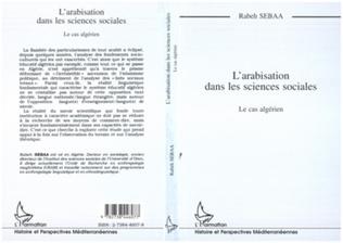 Couverture L'arabisation dans les sciences sociales