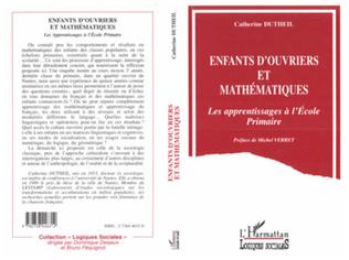 Couverture ENFANTS D'OUVRIER ET MATHÉMATIQUES