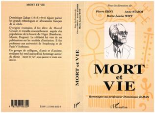 Couverture Mort et vie (Hommage au professeur D. Zahan)