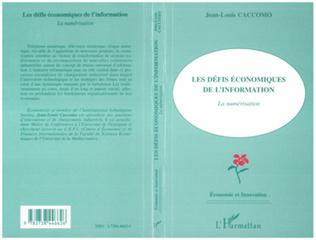 Couverture Les défis économiques de l'information