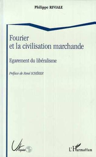 Couverture Fourrier et la civilisation marchande