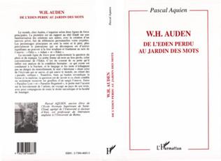 Couverture W.H. Auden