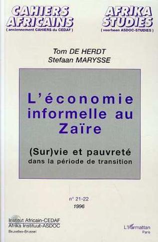 Couverture L'économie informelle au Zaïre
