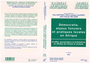 Couverture Démocratie, enjeux fonciers et pratiques locales en Afrique