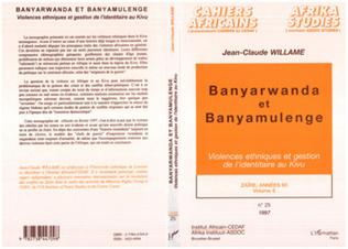 Couverture Banyarwanda et Banyamulenge