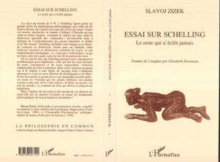 Couverture Essai sur Schelling