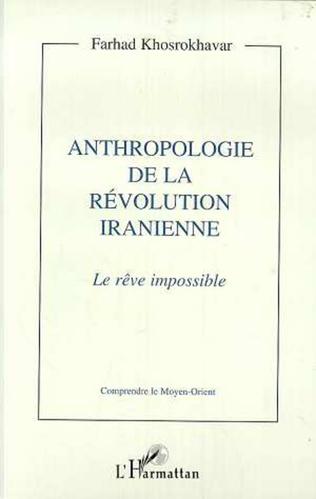 Couverture Anthropologie de la révolution iranienne