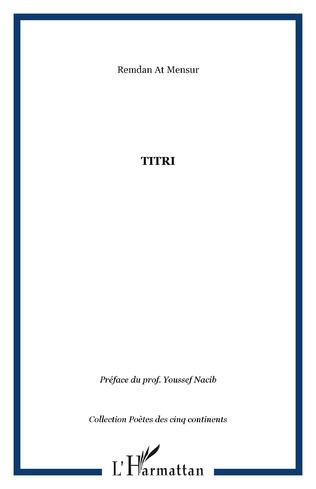 Couverture Titri