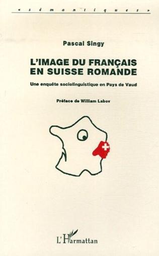 Couverture L'image du français en Suisse romande
