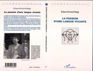 Couverture LA PASSION D'UNE LANGUE VIVANTE