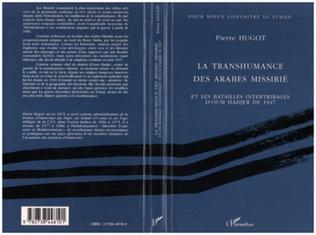 Couverture La transhumance des Arabes Missirié et les batailles intertr
