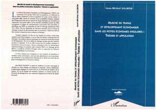 Couverture Marché du travail et développement économique dans les petites économies insulaires : théorie et application
