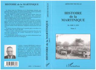 Couverture Histoire de la Martinique