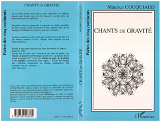 Couverture Chants de gravité