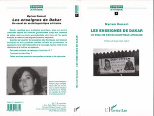 Couverture Les Enseignes de Dakar