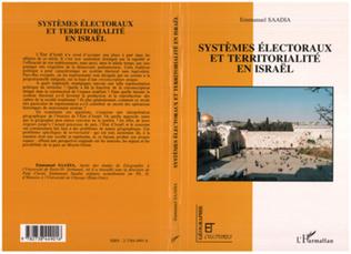 Couverture Systèmes électoraux et territorialité en Israël