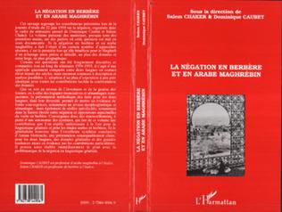 Couverture La négation en berbère et en arabe maghrébin
