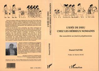 Couverture L'idée de Dieu chez les Hébreux nomades