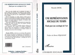 Couverture UNE REPRESENTATION SOCIALE DU TEMPS