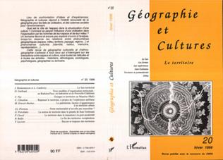 Couverture Géographie et cultures n°20