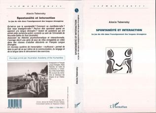 Couverture Spontanéité et interaction