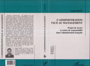 Couverture L'ADMINISTRATION FACE AU MANAGEMENT