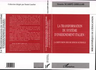 Couverture Transformation du système d'enseignement italien: la diffusion des business schools