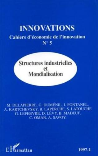 Couverture Structures industrielles et mondialisation