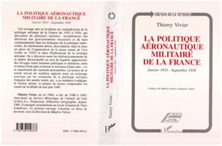 Couverture La politique aéronautique militaire de la France