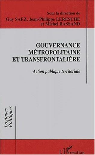 Couverture Gouvemance métropolitaine et transfrontalière