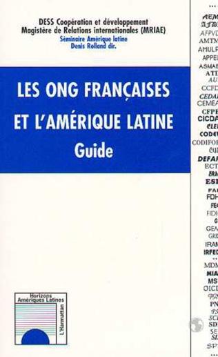 Couverture Les ONG françaises et l'Amérique Latine