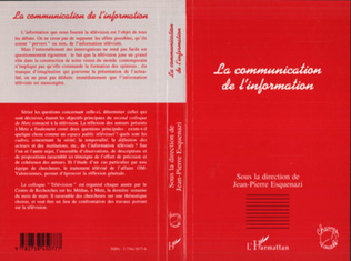 Couverture La communication de l'information