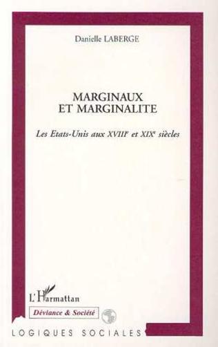 Couverture MARGINAUX ET MARGINALITÉ