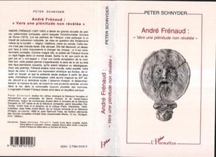Couverture André Frenaud: