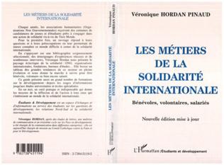 Couverture LES METIERS DE LA SOLIDARITE INTERNATIONALE