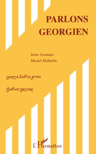 Couverture Parlons géorgien