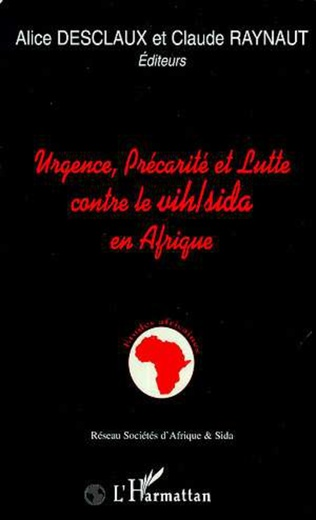 Couverture Urgence, précarité et lutte contre le VIH/SIDA en Afrique