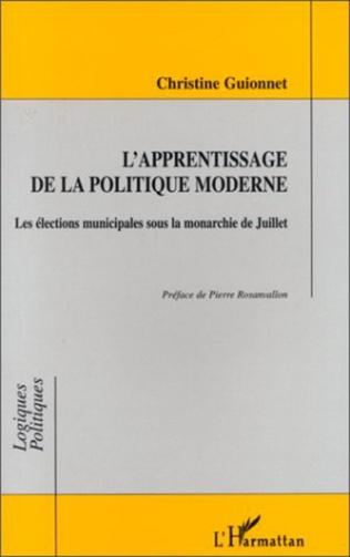 Couverture L'APPRENTISSAGE DE LA POLITIQUE MODERNE