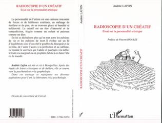 Couverture RADIOSCOPIE D'UN CREATIF