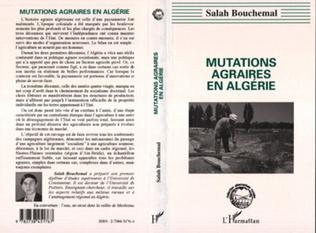 Couverture Mutations agraires en Algérie